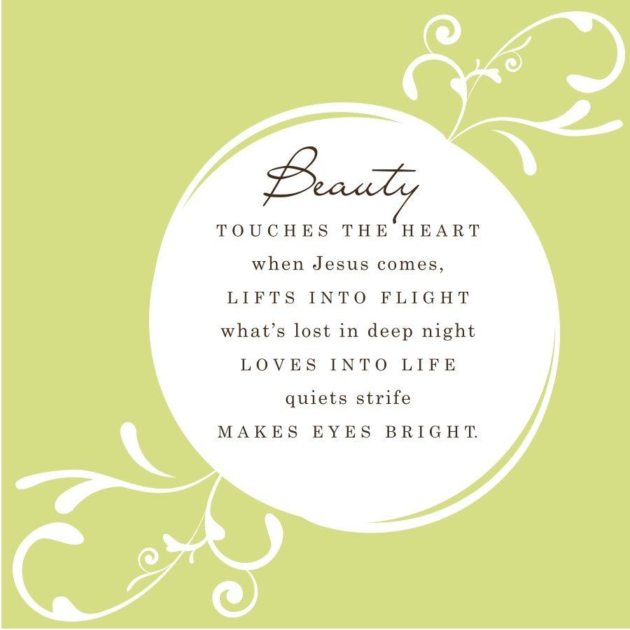 Beauty poem