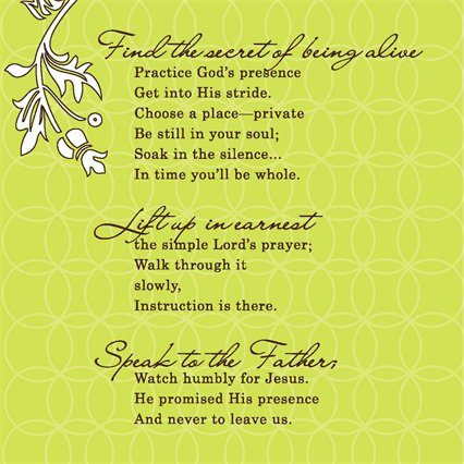 Secret Life poem
